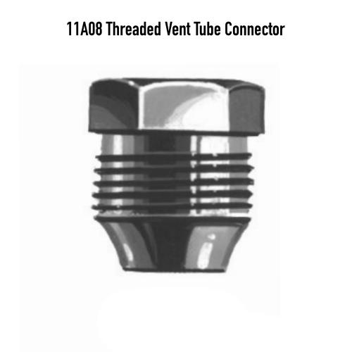 Maxitrol 11A08 Threaded Vent Tube Connector 5/16-24 Illustration