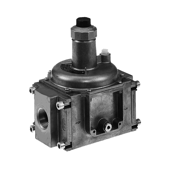 """Dungs 230-475 Modular Pressure Regulator FRI 712/6 Outlet 1"""" to 80"""" WC Standard Spring 4"""" to 12"""""""