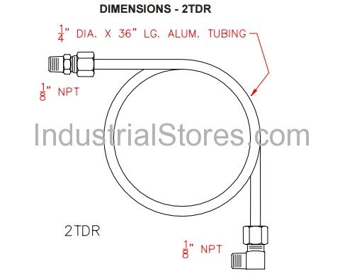 Pyronics 5108-2-TDR Regulator Loader Assemblies