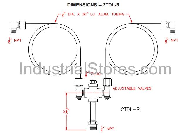 Pyronics 5108-2 TDL-R Regulator Loader Assemblies