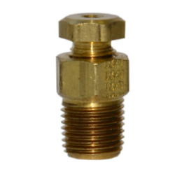 "Maxitrol 11A04 Compression Fitting Tube Connection 1/8"" x 1/4"""