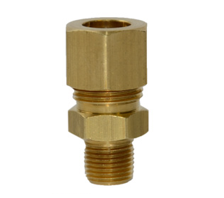 "Maxitrol 11A05-63 Compression Fitting Tube Connection 3/8"" X 3/8"""