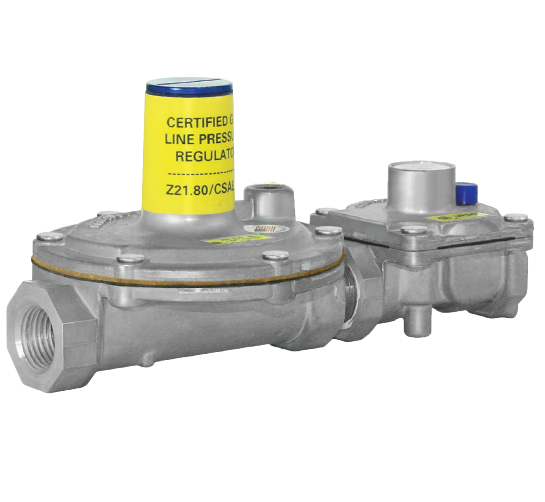 "Maxitrol 325-3L47-1/2 Lever Acting Design Line Regulator with OPD 1/2"" 5 PSI 7-11"" W.C. 125,000 BTU"