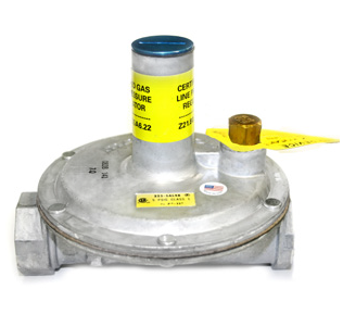 """Maxitrol 325-5L-1-12A39 Lever Acting Design Line Regulator with Vent Limiter Installed 1"""""""