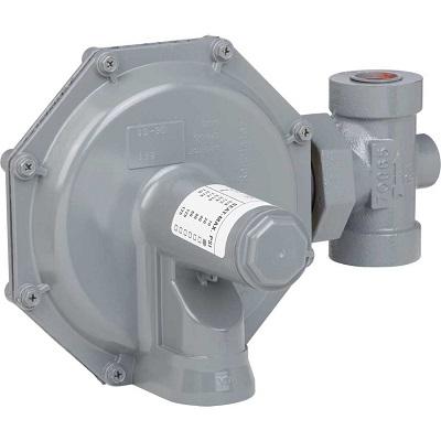 "Sensus (Rockwell-Equimeter) 143-1 Regulator 1"" Inlet 3/8"" Orifice Standard Spring (Green) 6-14"" WC"
