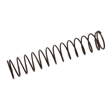 "Actaris 762645 Brown Adjustment Spring For B42 Series Regulator 6-8"" W.C."